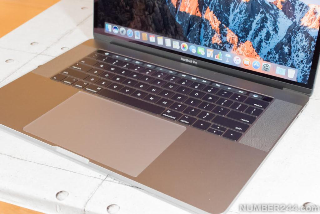 15インチMacBook Pro 2017
