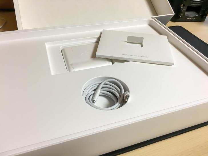 15インチMacBook Pro 2017の付属品