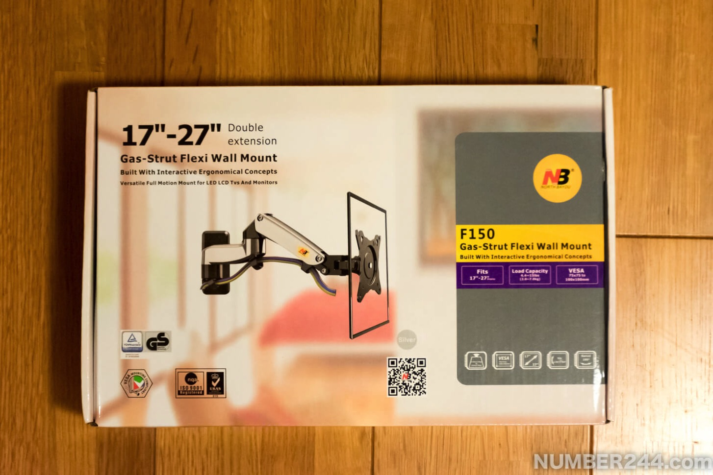 Monitor arm wall 1