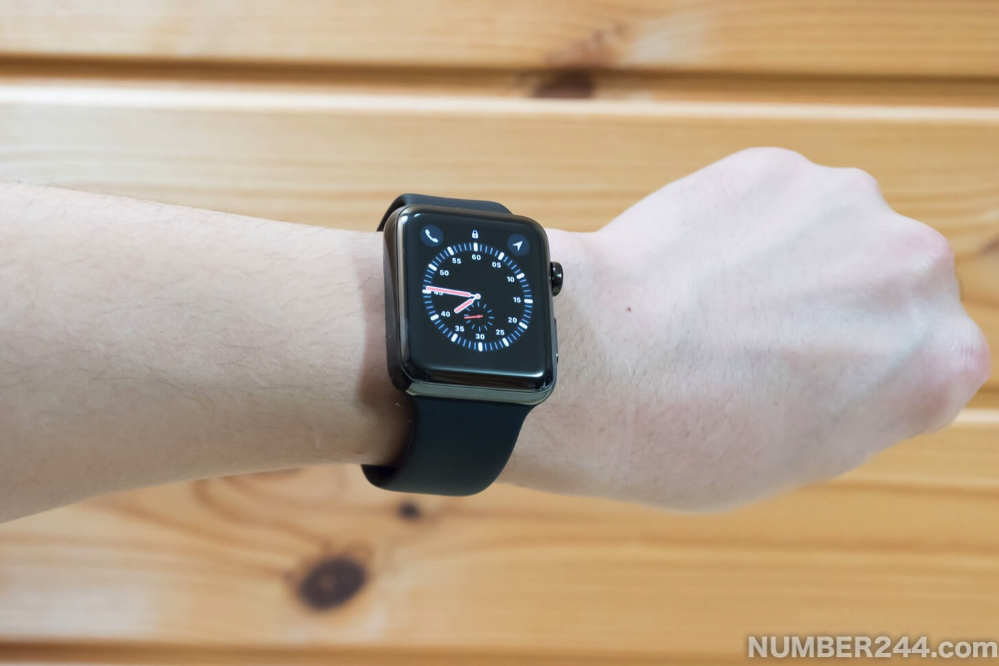 Initial setting of Apple Watch 27