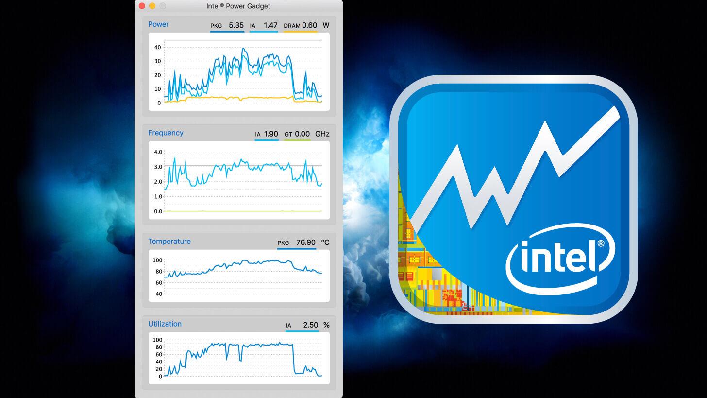 MacのCPU温度や動作周波数、使用...