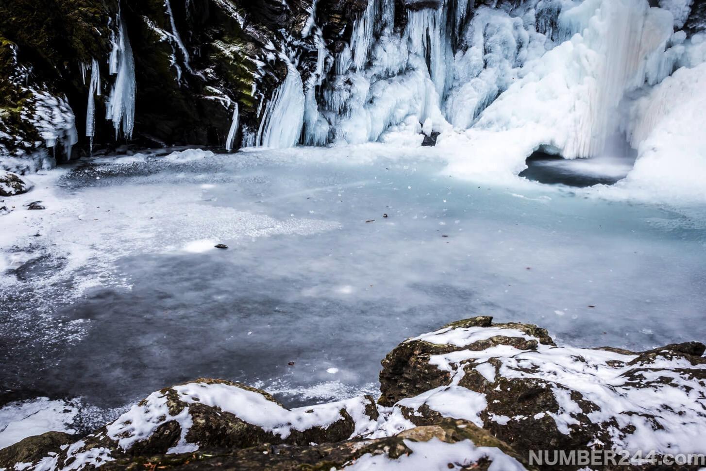 Jintsu waterfall icefall 2