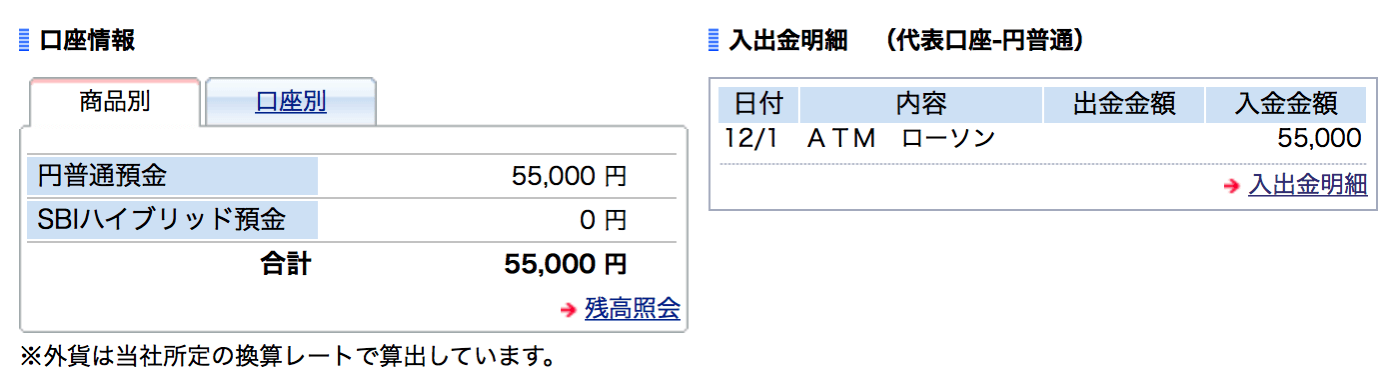 Shumishin SBI Bank Cash Card2