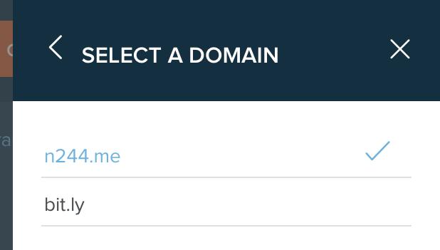 Bitly original domain 21