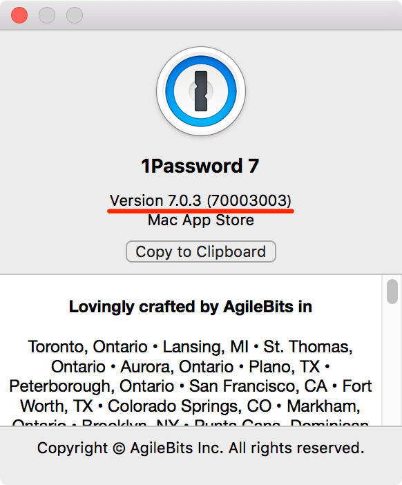 Cannot update 1Password 6