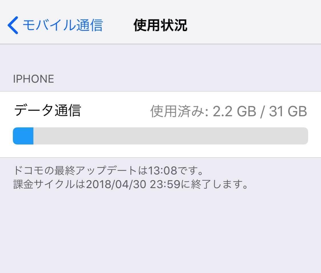 Docomo iPhone data 10