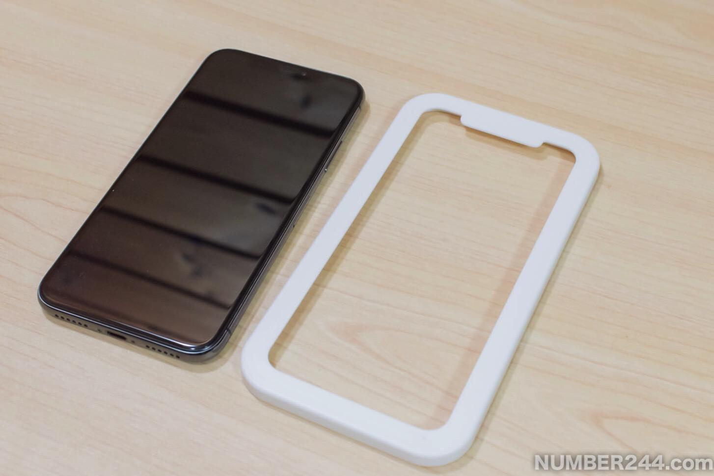 IPhone X Nimaso Glass film3