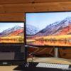 「LG 27UK850-W」新作LG27インチHDR対応4Kモニタレビュー!MacBook Proとの相性は?